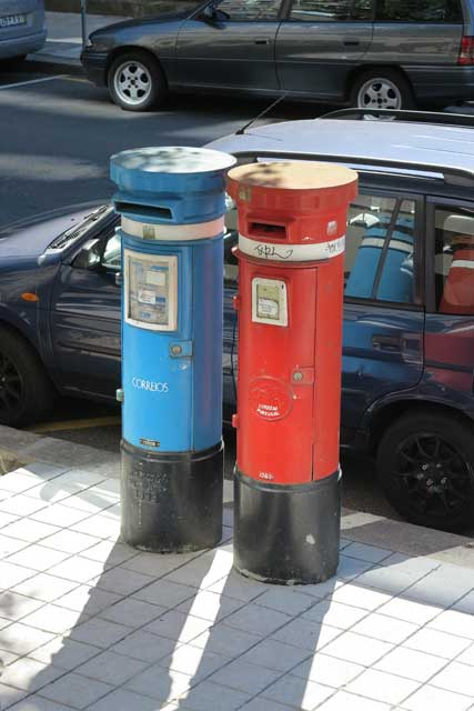 Post boxes in Braga