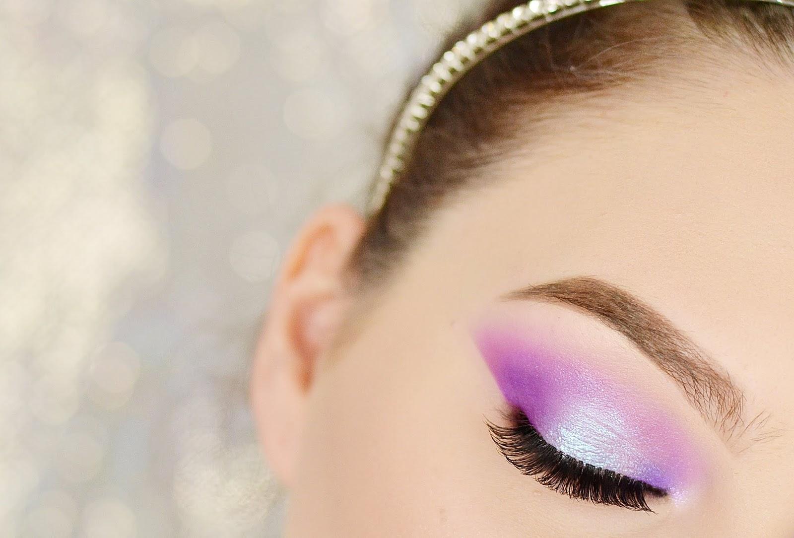 makijaż na lato chłodne kolory