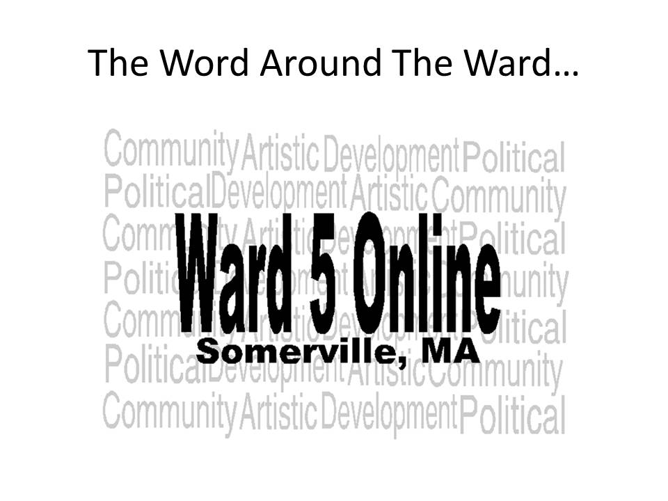 Welcome to Ward 5 Online: The Word Around The Ward