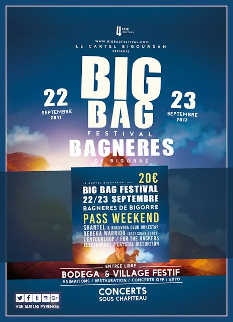 Festival Big Bag festival Bagnères de Bigorre 2017