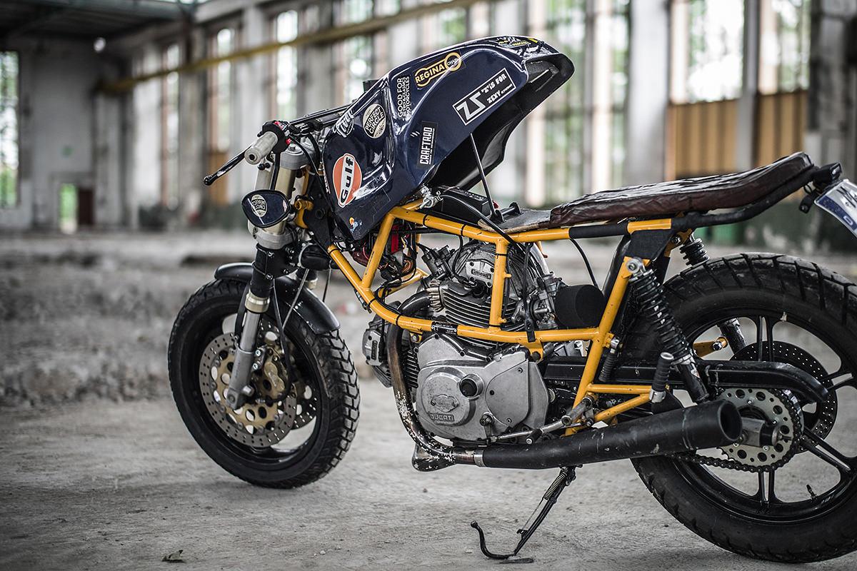 Honda Cb750 Cafe Racer >> Ducati Pantah 500 Hermann Kopf | 99garage | Cafe Racers Customs Passion Inspiration