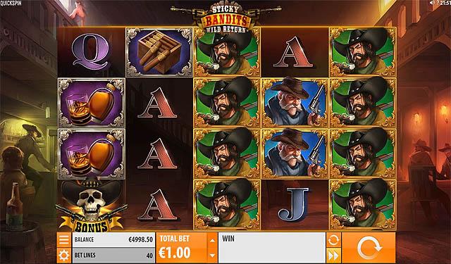 Main Slot Gratis Indonesia - Sticky Bandits: Wild Return (Quickspin)