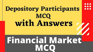 Depository Participants MCQ