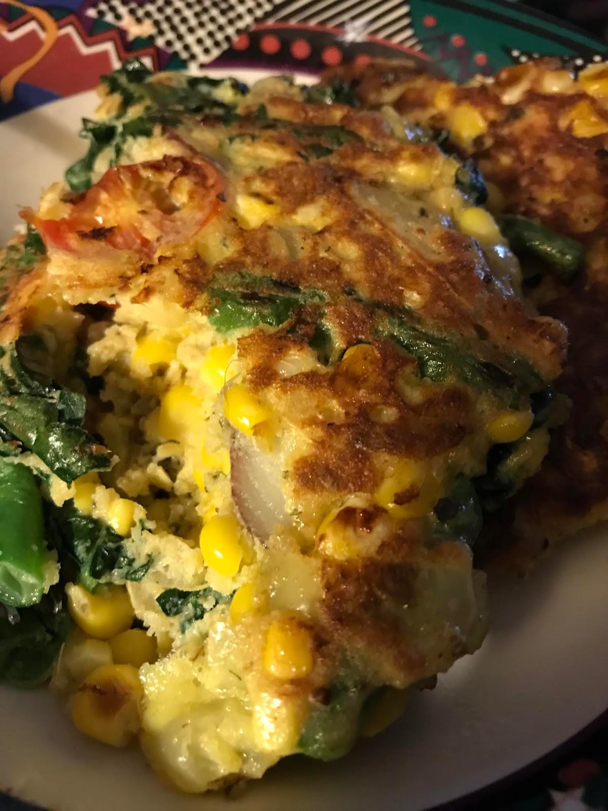 mariannes kitchen chunky fresh veggie sweet corn fritters