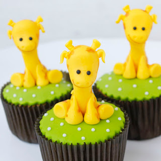 Cupcakes decorados con animales
