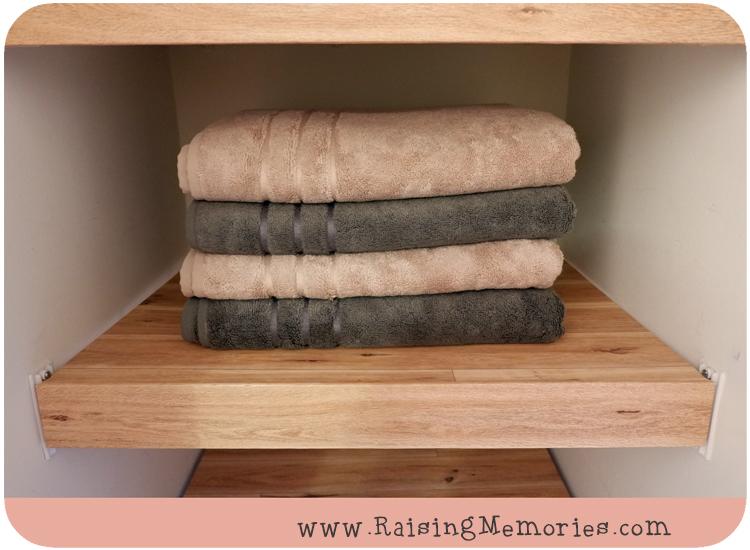 Faux Wood Floating Shelves