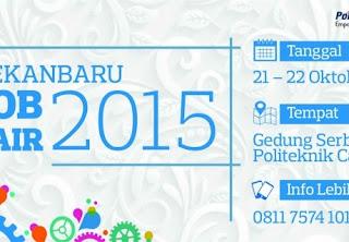 Job Fair Politeknik Caltex Riau (PCR)