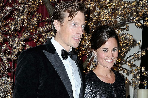 Pippa Middleton and Nico Jackson at Sugarplum Ball