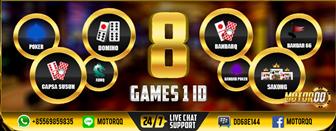 Situs Poker Resmi Paling Top di Asia: Motorqq.online