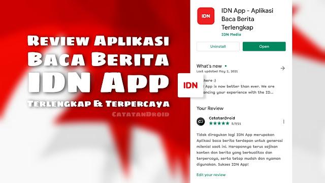 IDN App Aplikasi Baca Berita Terfavorit