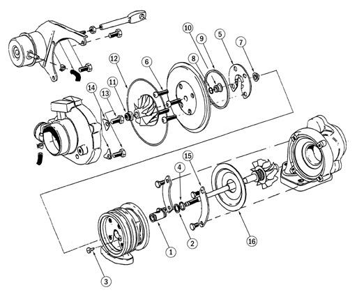 Garrett GT25R  GT2554R  60 TRIM  270 HP Turbocharger Specs