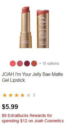 FREE Joah Lipstick & Concealer at CVS 12-15-12-21