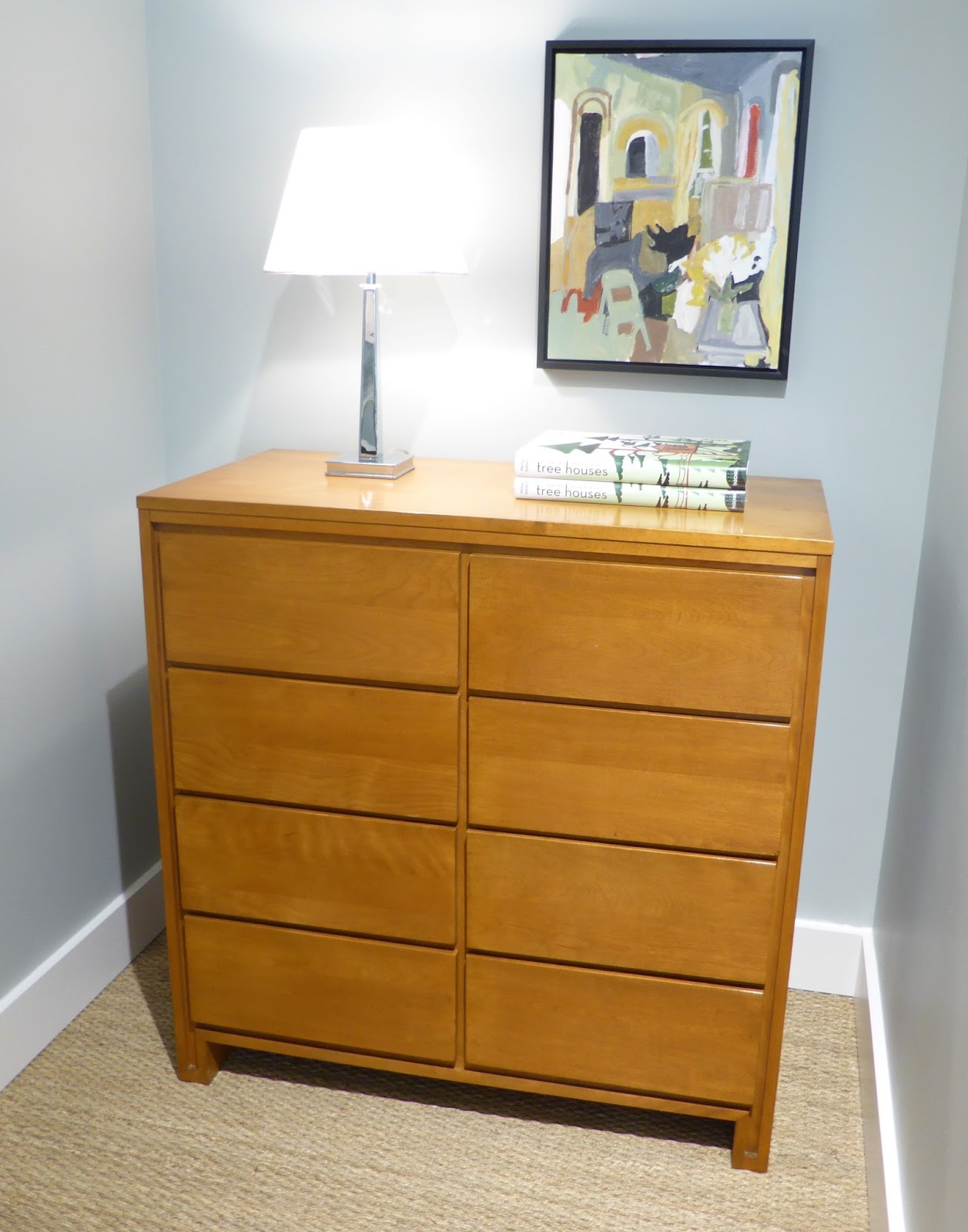 Michael Thomas Russel Wright For Conant Ball Tall Chest