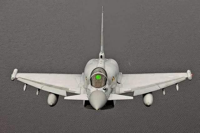 Resultado de imagen de Un Portavoz de la RAF  Typhoon h