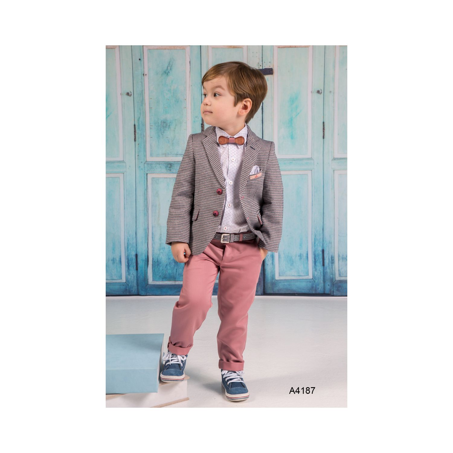 Classic baptismal suit for boys A4187