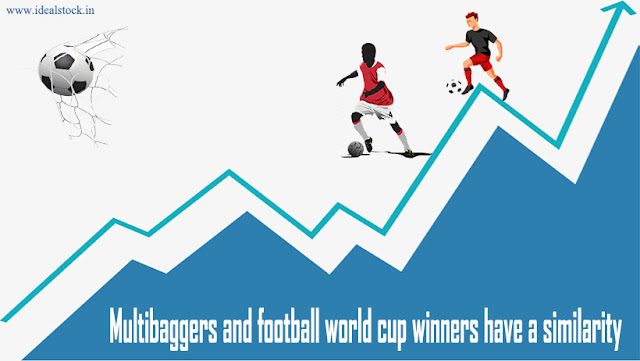 Ideal Stock : Multibaggers and football world cup winners have a