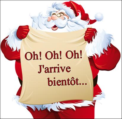 Ho Ho Ho Pere Noel L'alphabet de Noël