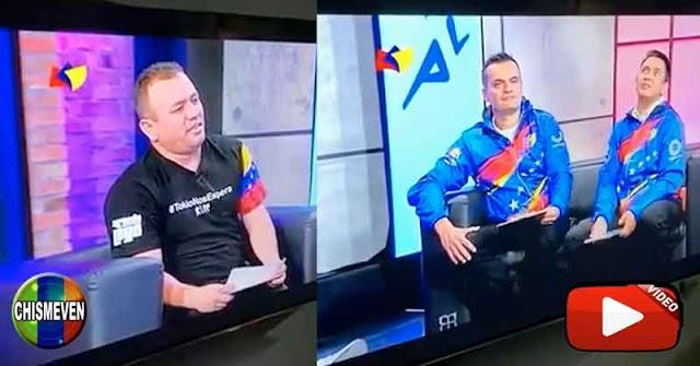 Juan Guaidó compartió el error olímpico de transmisión de TVES