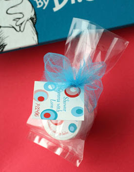 Dr Seuss Baby Shower Favors