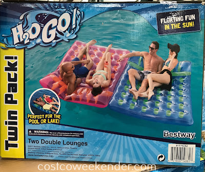 Bestway Double Drifter Lounge Pool Float: great for summers in the pool