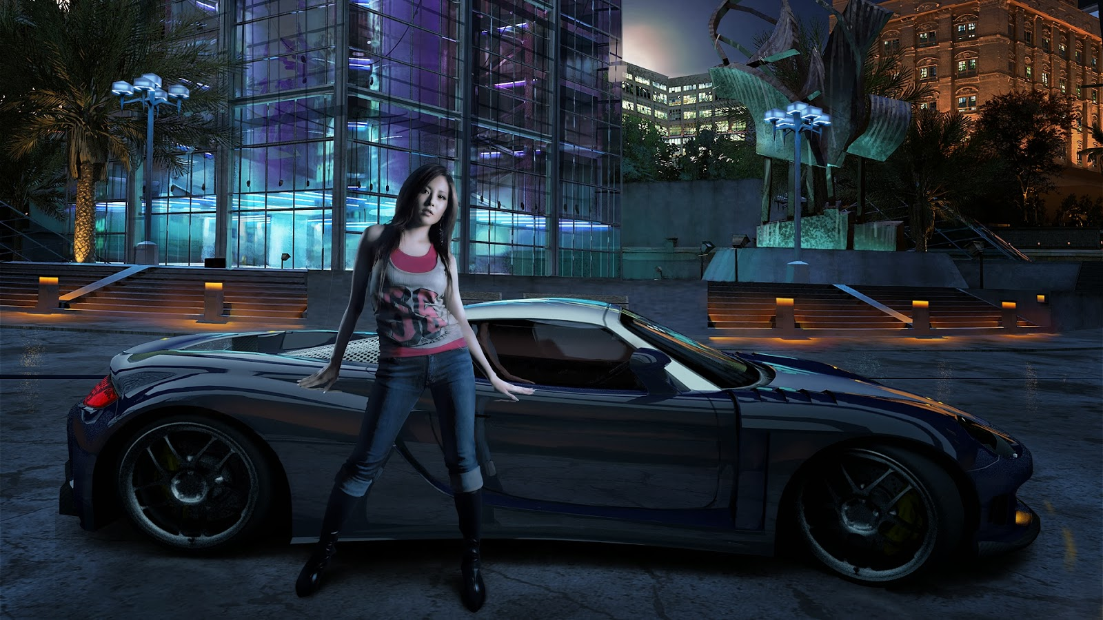 Girl-with-sports-car-night-background-HD-wallpaper-free-download.jpg