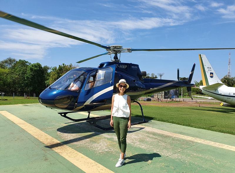 Foz do Iguaçu Passeio de helicóptero