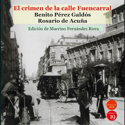 Portada de El crimen de la calle de Fuencarral