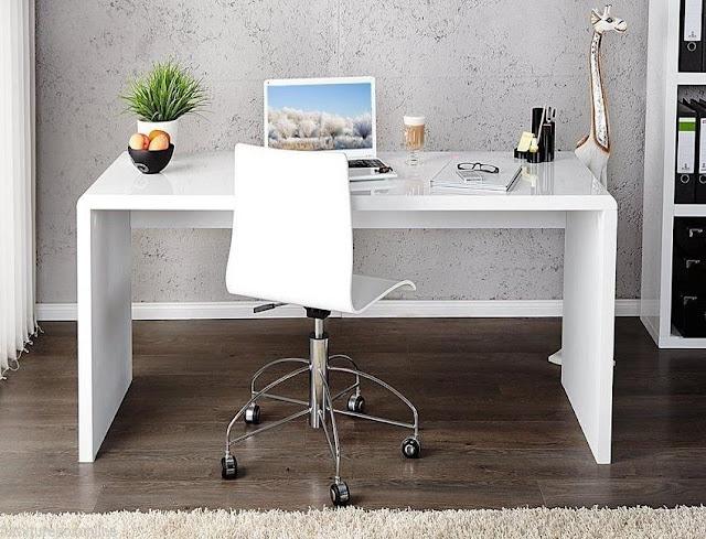 best buy white gloss office desk furniture in Dubai for sale