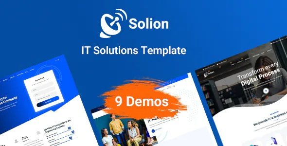 Technology and IT Solutions Template
