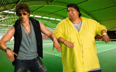 Hrithik Roshan and Ganesh Acharya Dancing Together