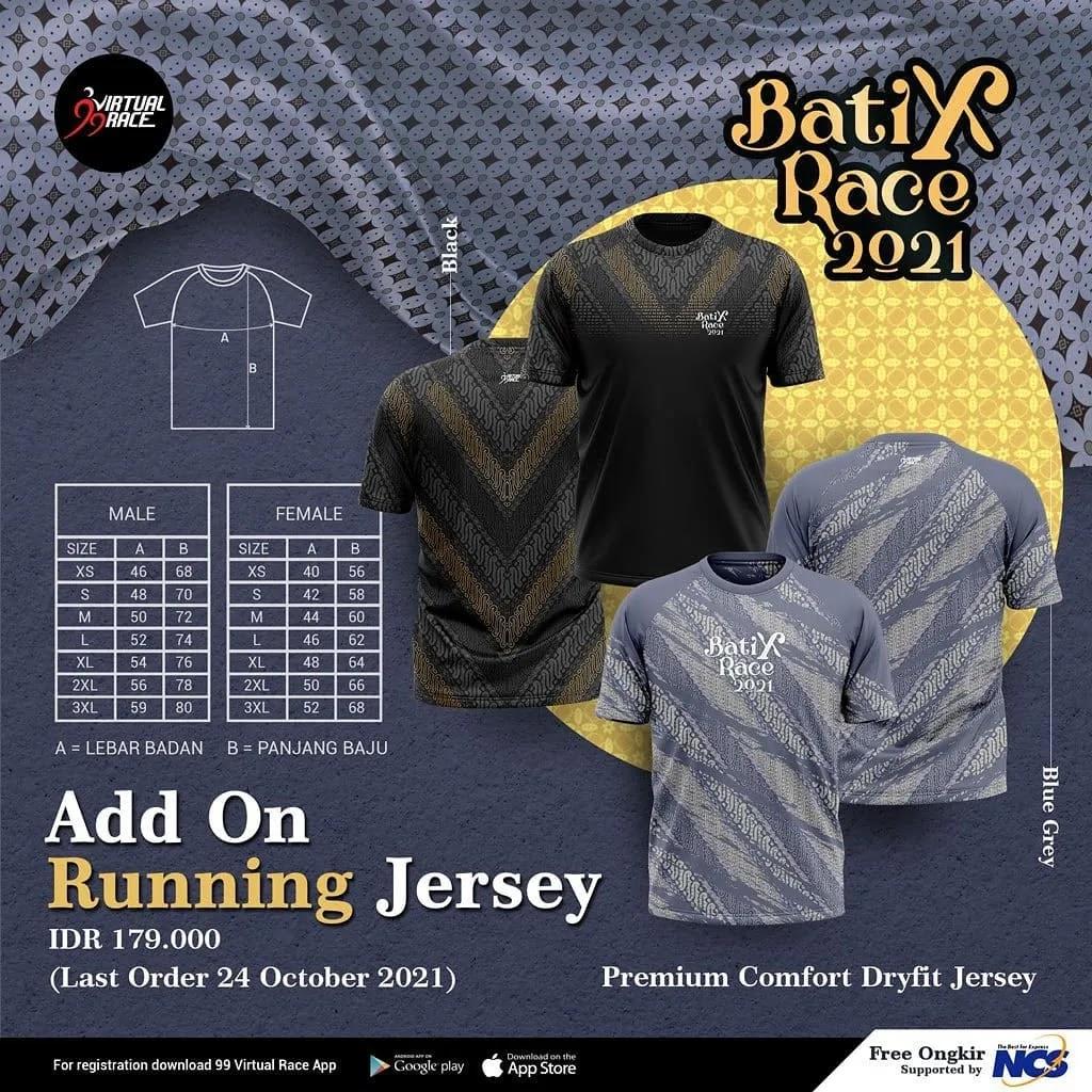 Running Jersey 👕 BatiXRace • 2021