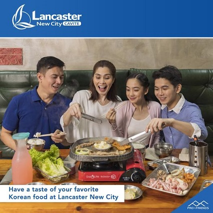 Have a taste of your favorite Korean food at Lancaster New City