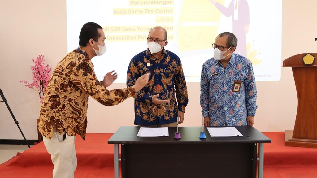 Tax Center UPB Perpanjang MoU dengan Kanwil DJP Jawa Tengah II