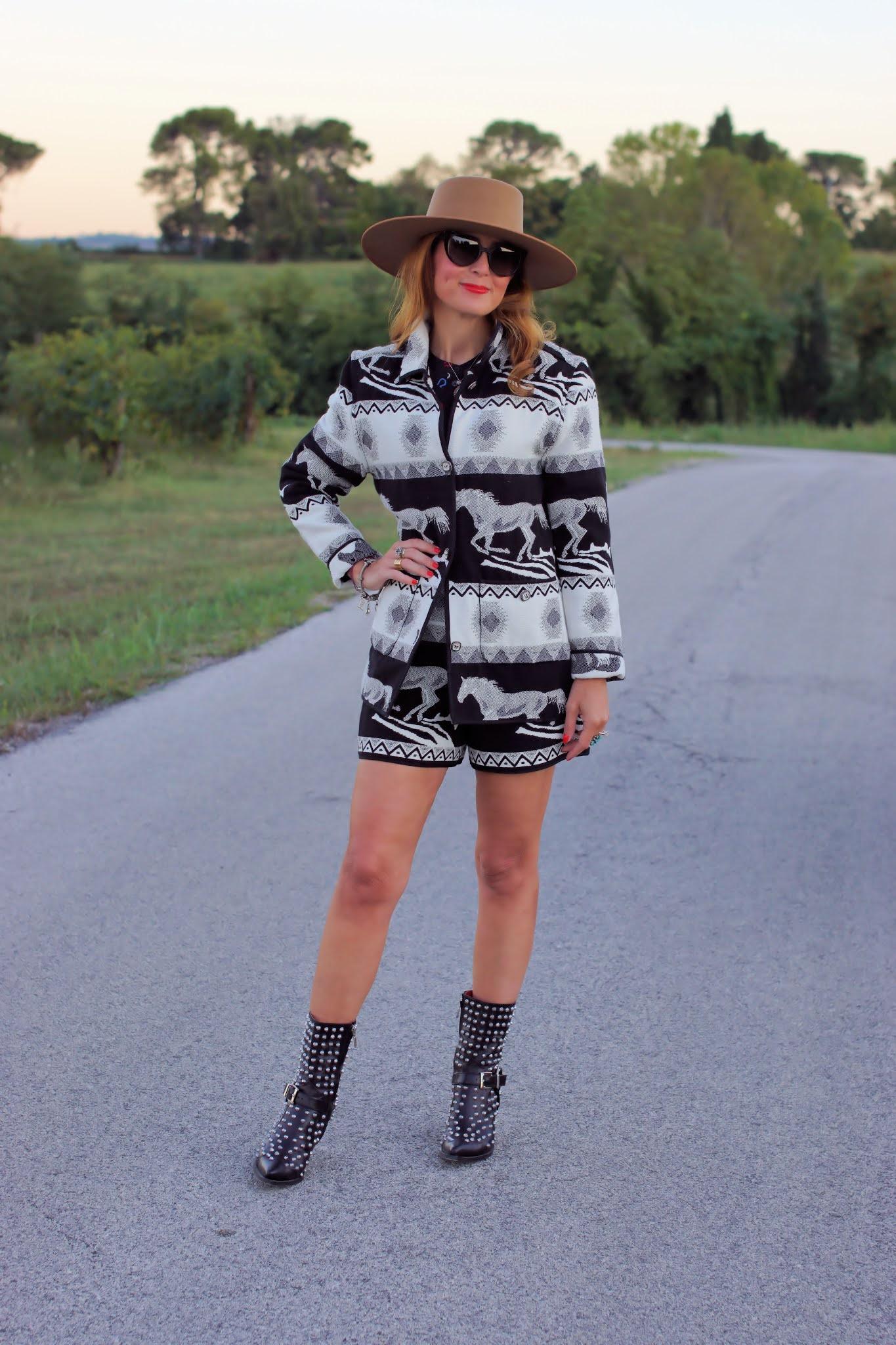 Western style blogger italiana