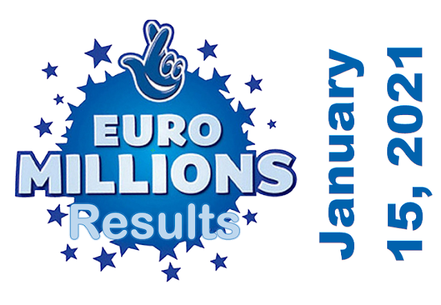 EuroMillions Results for Friday, January 15, 2021
