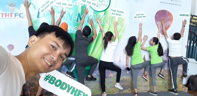 Tham gia ngày hội Bodykey cùng team Prosumer