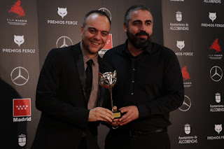 Victor Moreno y José Alayón en los Premios Feroz 2020
