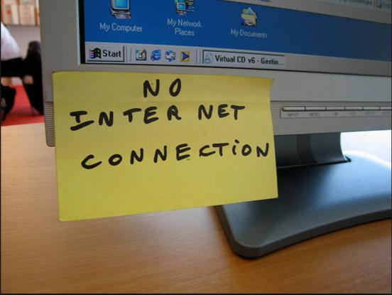 حل مشكلة عدم عمل بعض المواقع رغم وجود الأنترنت