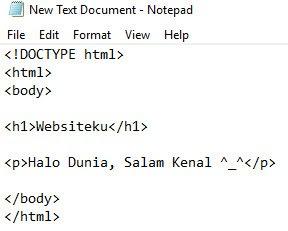 Text Editor HTML Notepad