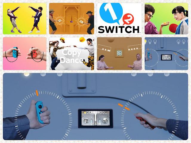 Bewegungsspiele zur Adventszeit mit Nintendo Switch