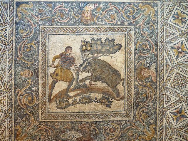 Mosaici Romani a Mérida Estremadura
