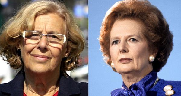 Manuela Carmena expulsa a Margaret de Thatcher del callejero de Madrid