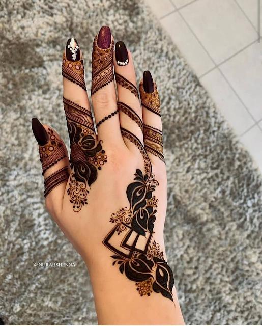 pics of arabic mehndi designs 2017