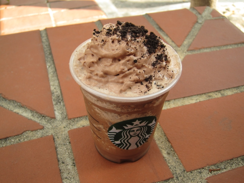 Review Starbucks Mocha Cookie Crumble Frappuccino Brand