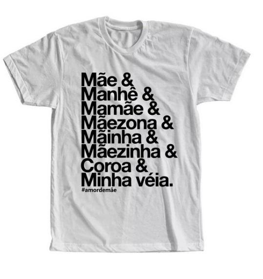 Camisetas personalizadas para sua mãe