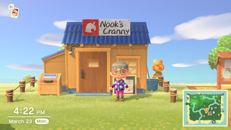 Animal Crossing: New Horizons วิธีสร้าง Nook's Cranny