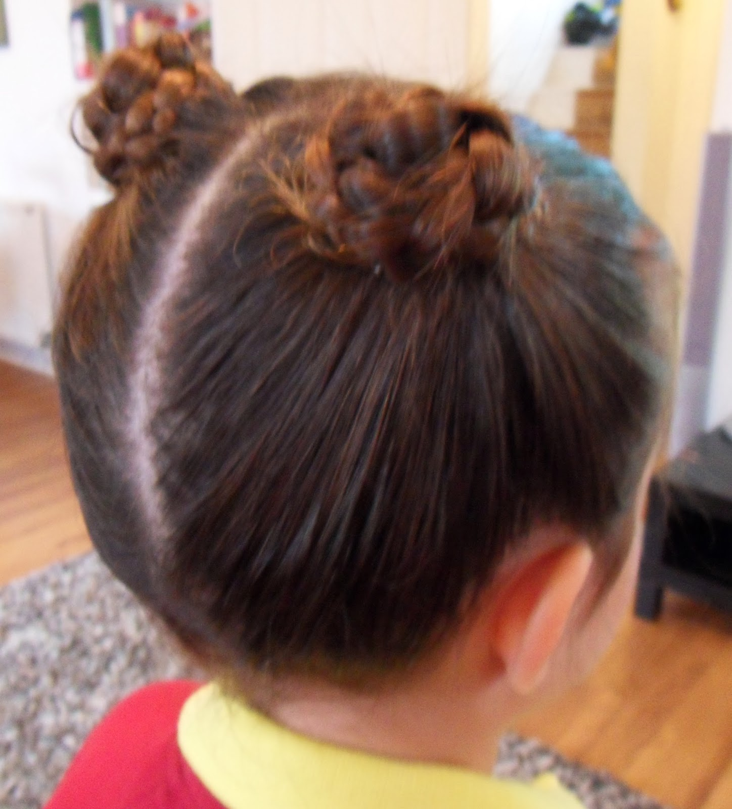 Hairstyle Girl Buns: Yummy Mummy Survival: Girls Hairstyles