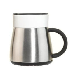 Insulated Ceramic Coffee Mug Desk With Lid Thermo 10 Oz By Contigo