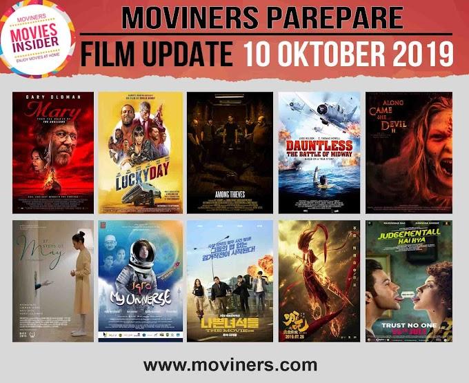 FILM UPDATE 16 OKTOBER 2019
