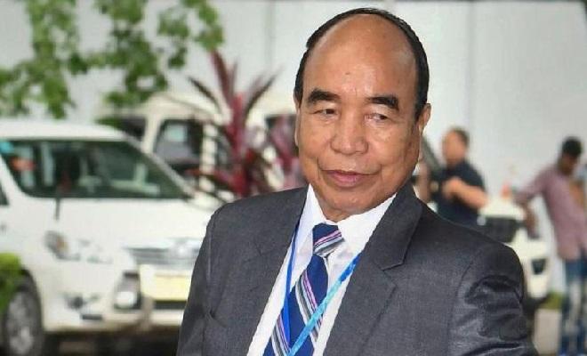 chief minister zoramthanga